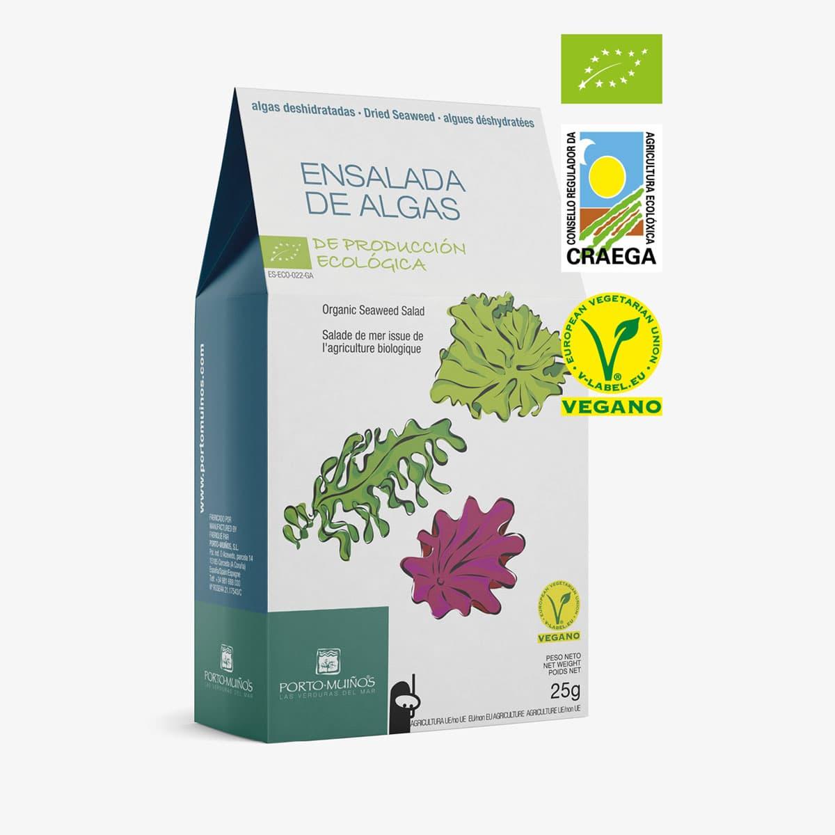 Ensalada de algas deshidratadas ecológica