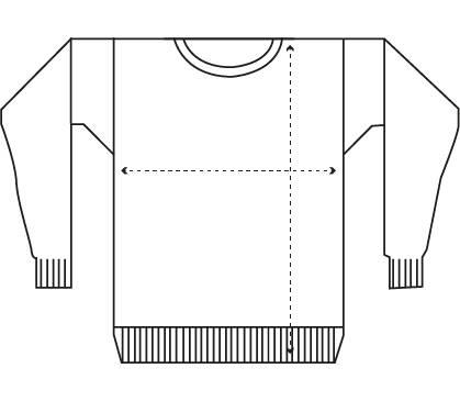 Guía de tallas jersey hombre IAIOS