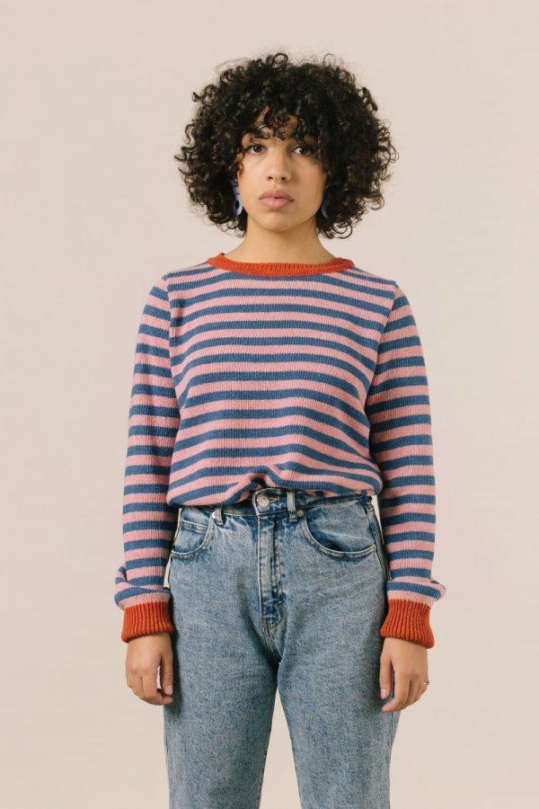 jersey-sostenible-de-rayas-para-mujer-de-iaios