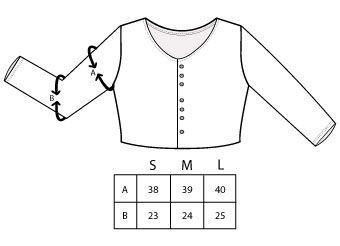 Medidas manda vestidos basics Tiralahilacha AW20