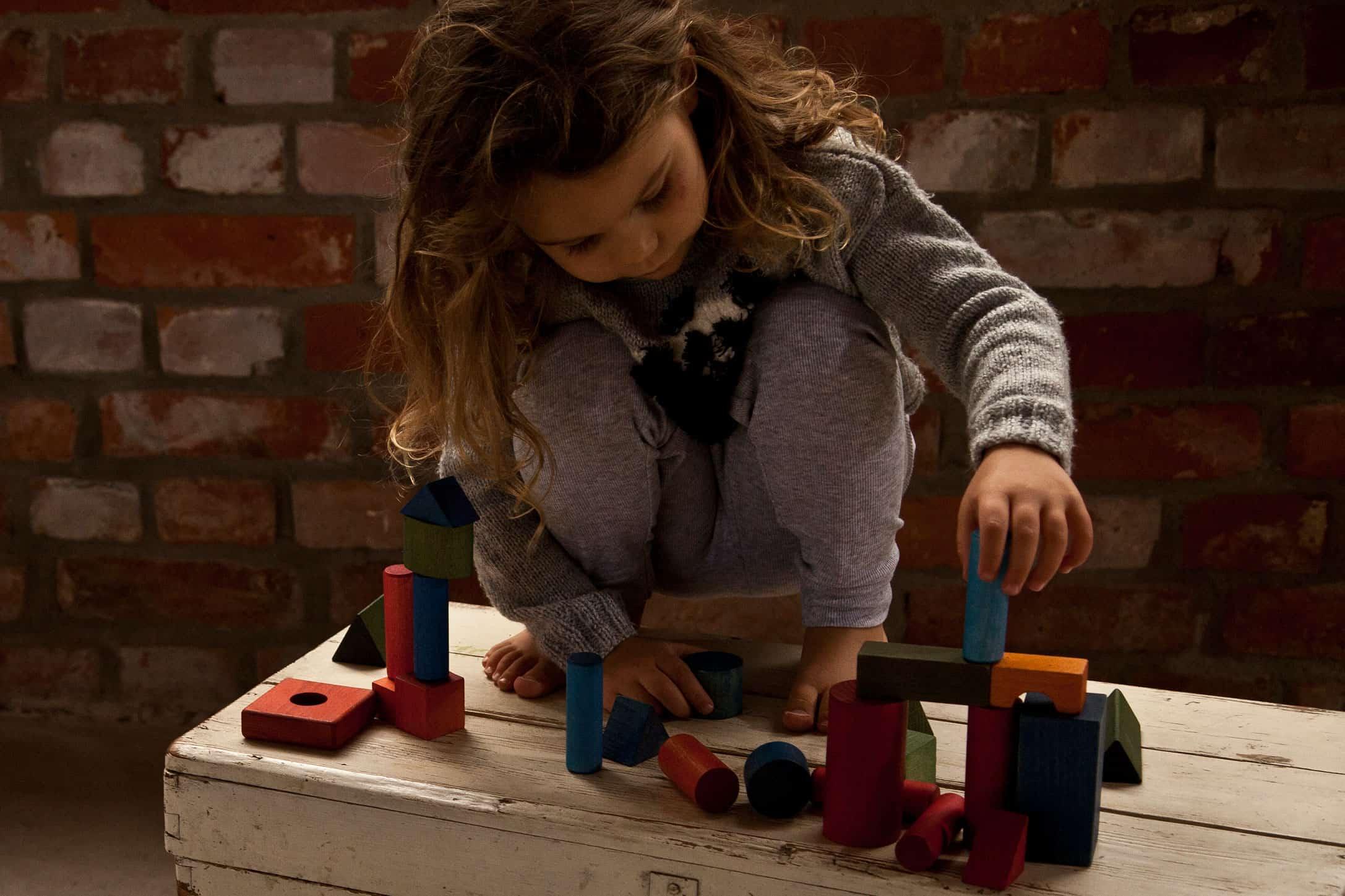 Juego de bloques de colores