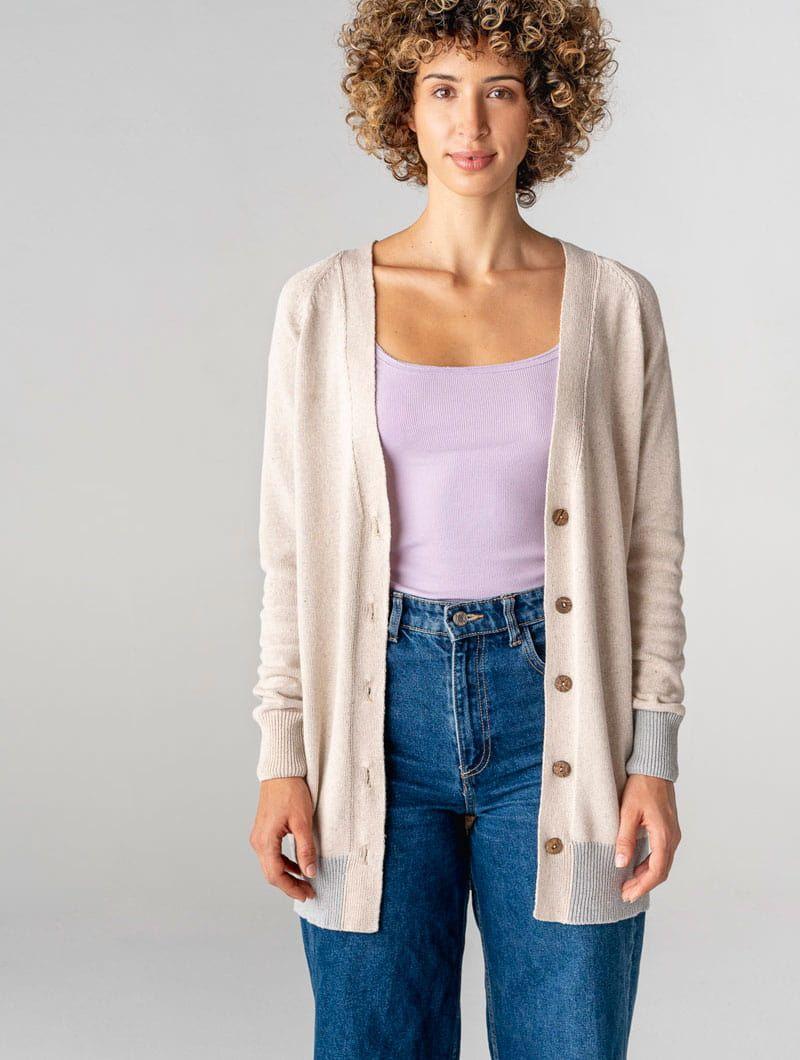 Chaqueta algodón orgánico mujer