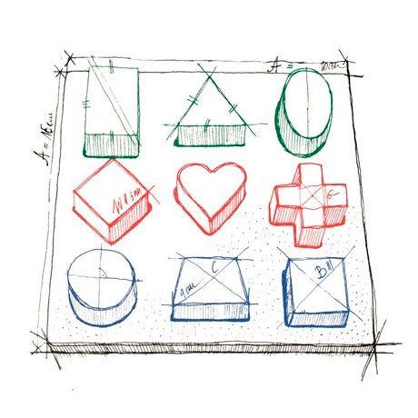 Medidas puzzle geométrico