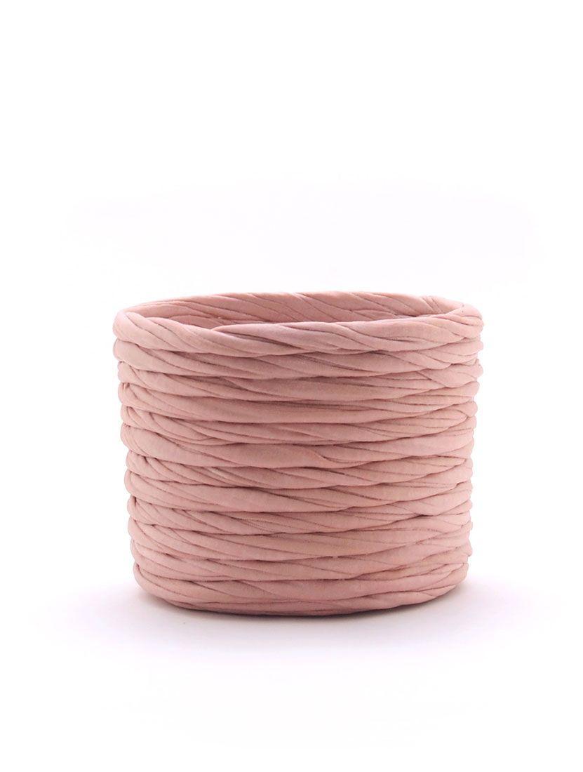 Cubremacetas rosa pequeño