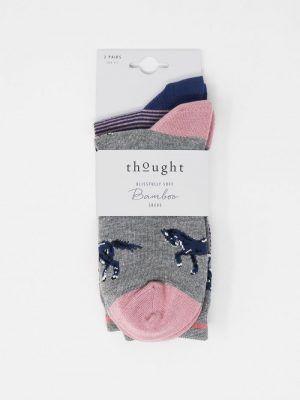 Pack de 2 calcetines estampados ecológicos mujer