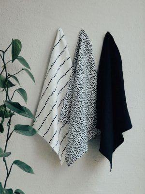 Servilletas de tela de algodón orgánico de varios colores