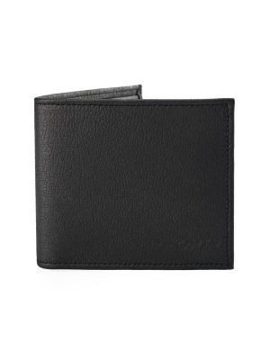 Cartera billetera color negro vegana
