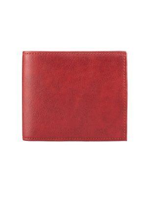 Cartera billetera color rojo