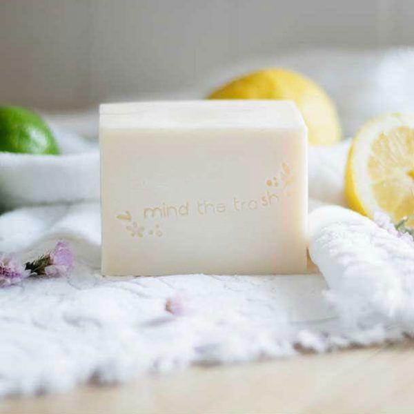 Lavavajillas sólido ecológico menta y limón