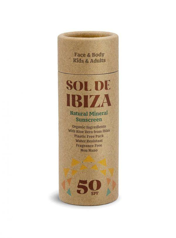 Protector solar facial. Factor 50