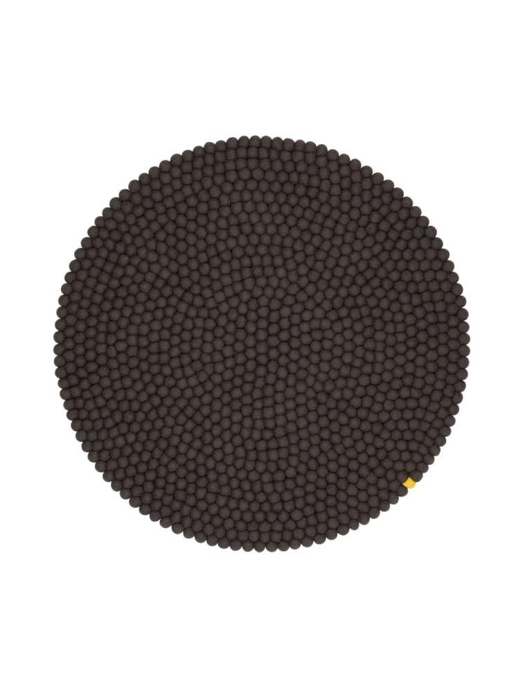 Alfombra circular color antracita