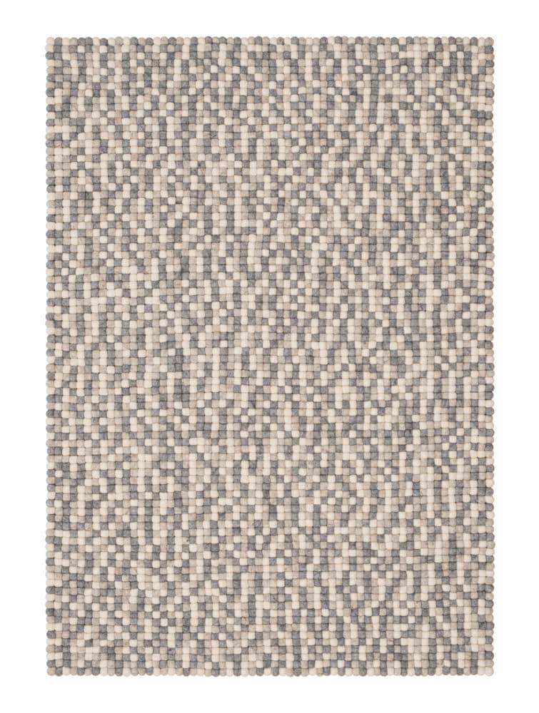Alfombra colores rectangular natural claro grande