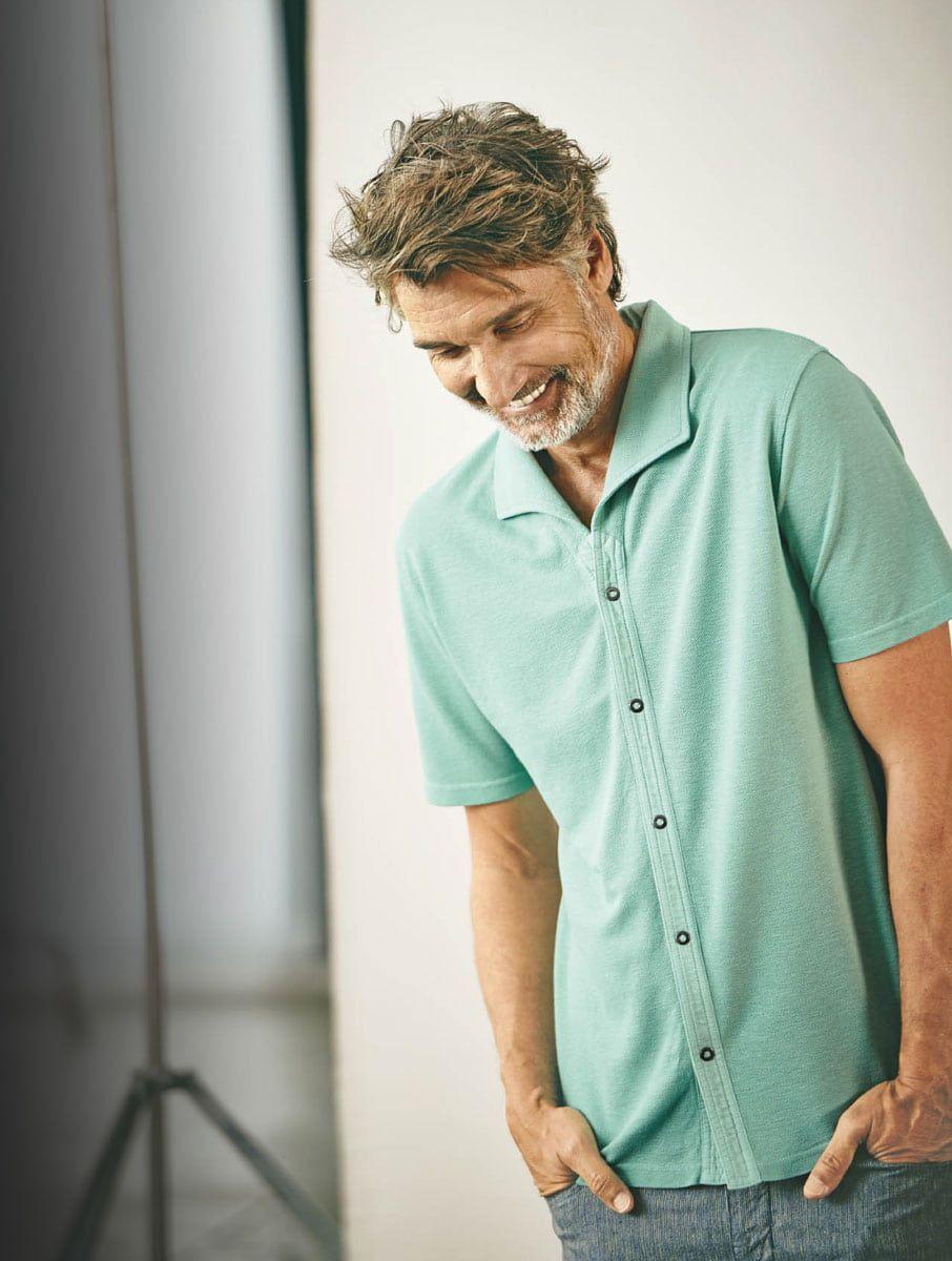 Camisa Hempage ropa sostenible ss21