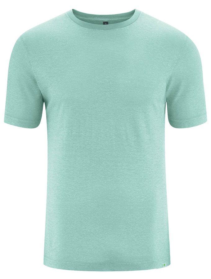 Camiseta básica algodón orgánico cáñamo verde