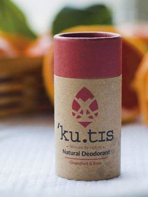 Desodorante ecológico de pomelo y rosa