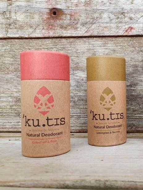 Desodorantes ecológicos zero waste