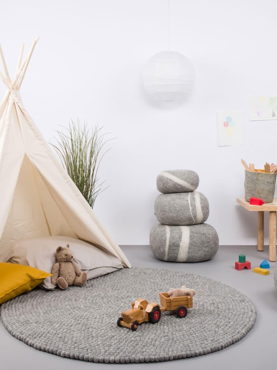 Puff para habitación de niños