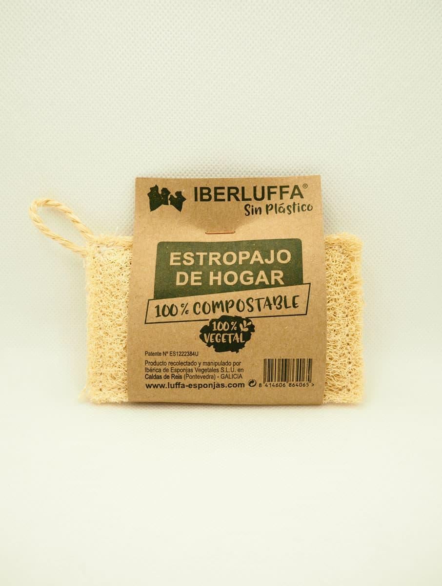 Estropajo vegetal de luffa Iberluffa