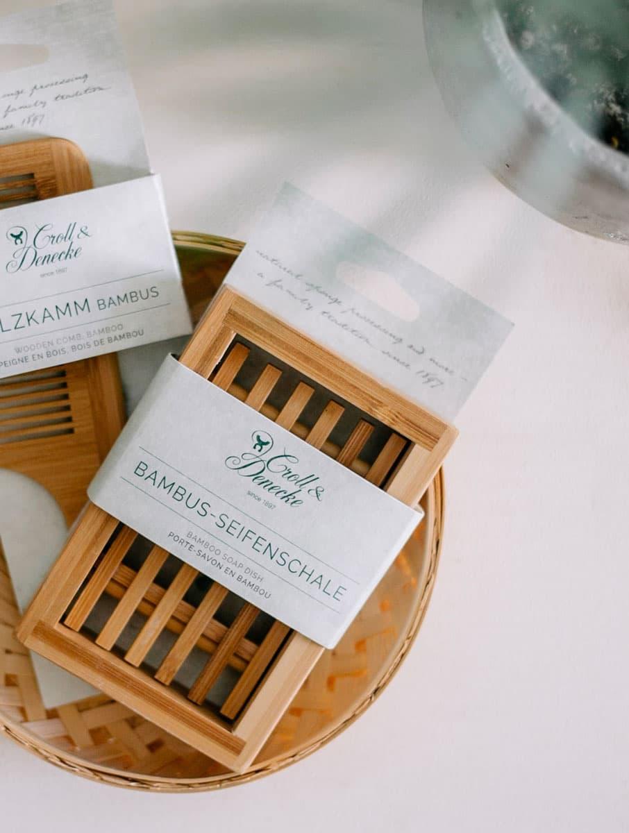 Jabonera de madera ecológica