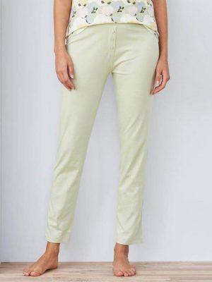 Pantalón largo pijama mujer algodón orgánico