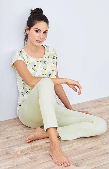Pantalón pijama largo verano ecológico mujer