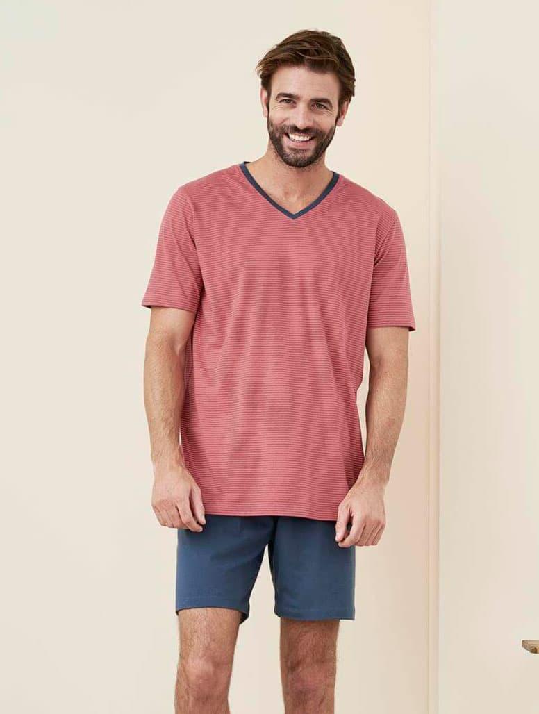Pijama verano hombre algodón orgánico