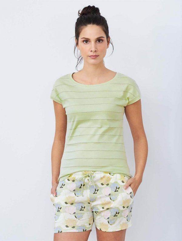 Pijama verano mujer 100% algodón orgánico