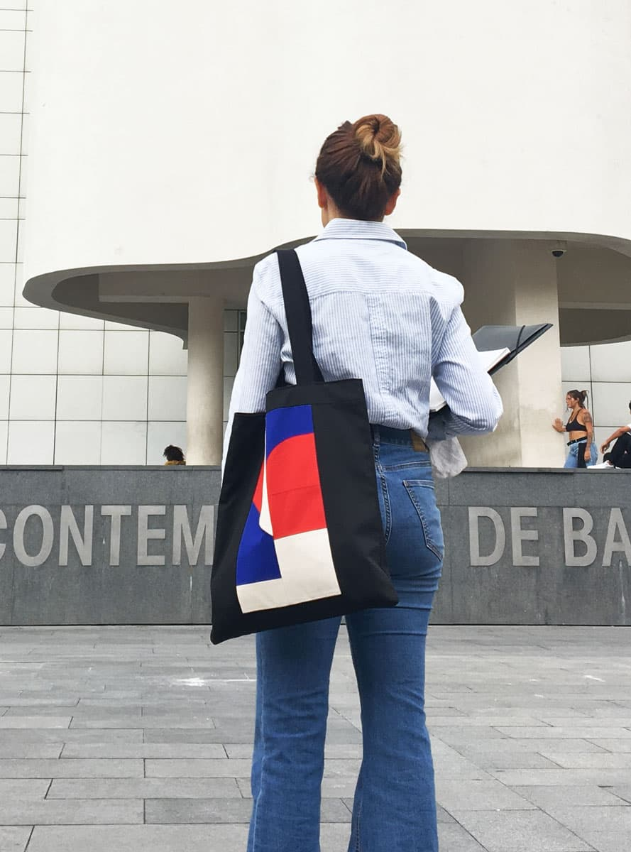 Tote bag tela Mondrian