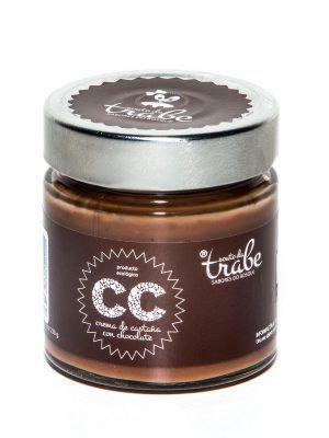 Crema ecológica de castañas con chocolate