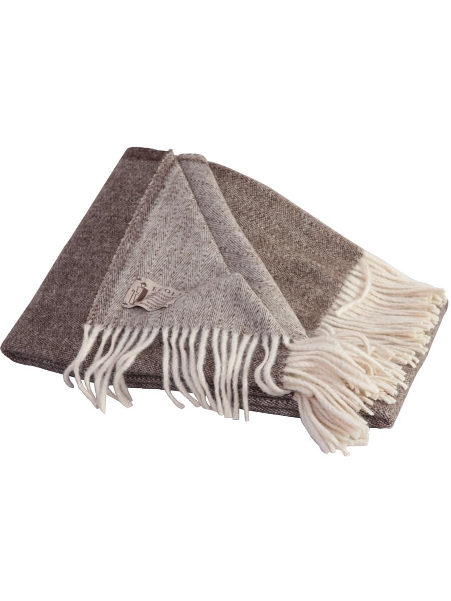 Manta de lana de doble cara ecológica