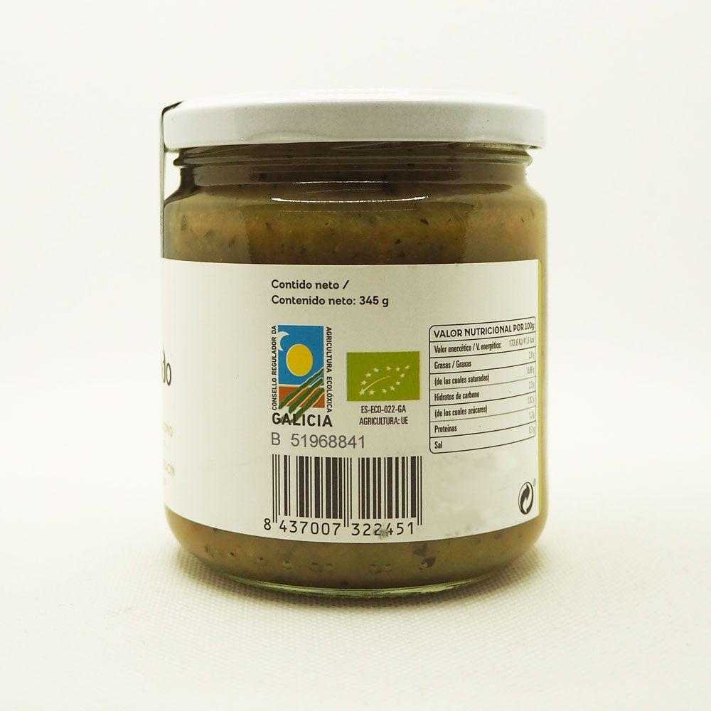 Crema de calabacín ecológica certificada